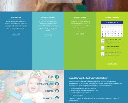 Buncombe County PFC Website Design