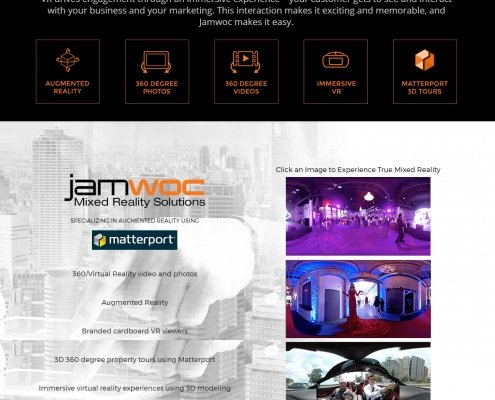Website Design for JAMWOC