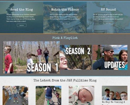 J&K Fulltime Adventures Web Design