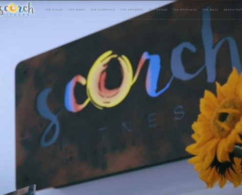 Scorch Asheville Website Design