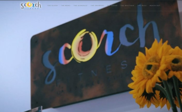 Scorch Asheville Website Design